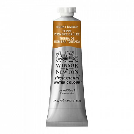 W&N Professional Watercolour 37ml - 076 Burnt Umber