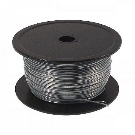 Picture Wire Roll plastic embedded 0,8mm 1,0kg