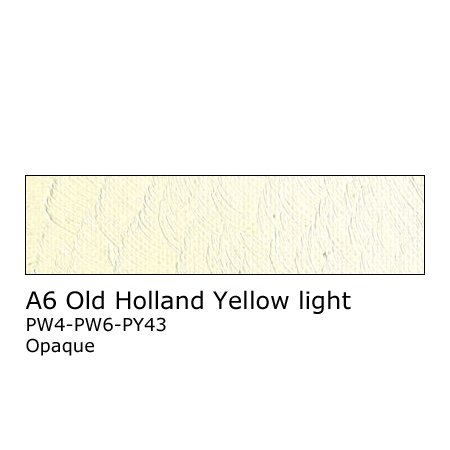 Old Holland 125ml - A6 Old Holland Yellow Light