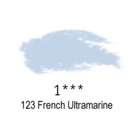 Daler-Rowney Artists Soft Pastel, 123 French Ultramarine - 1