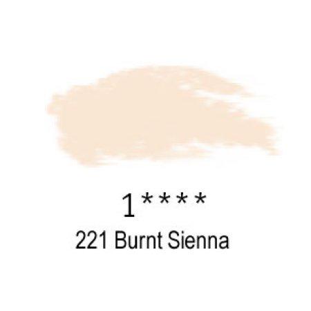 Daler-Rowney Artists Soft Pastel, 221 Burnt Sienna - 1