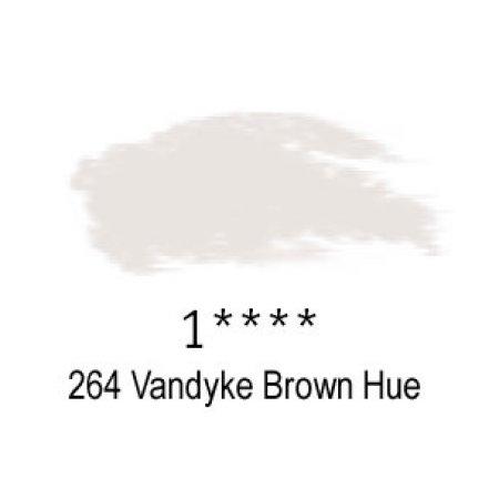 Daler-Rowney Artists Soft Pastel, 264 Vandyke Brown Hue - 1