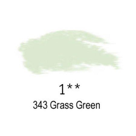 Daler-Rowney Artists Soft Pastel, 343 Grass Green - 1