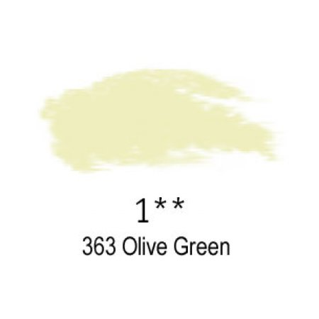 Daler-Rowney Artists Soft Pastel, 363 Olive Green - 1