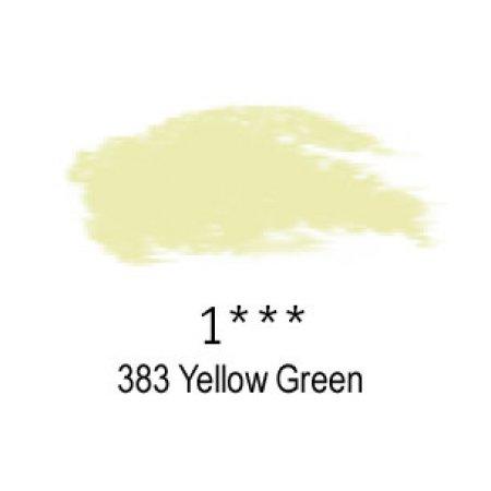 Daler-Rowney Artists Soft Pastel, 383 Yellow Green - 1