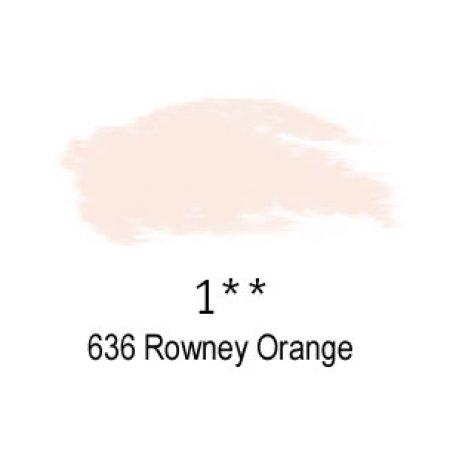 Daler-Rowney Artists Soft Pastel, 636 Rowney Orange - 1