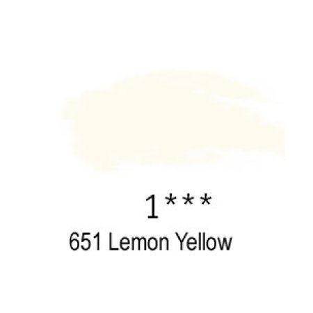 Daler-Rowney Artists Soft Pastel, 651 Lemon Yellow - 1