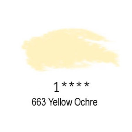Daler-Rowney Artists Soft Pastel, 663 Yellow Ochre - 1