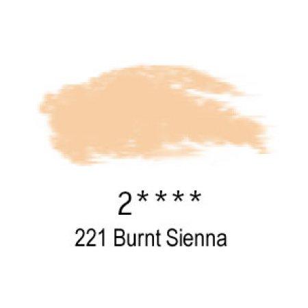 Daler-Rowney Artists Soft Pastel, 221 Burnt Sienna - 2