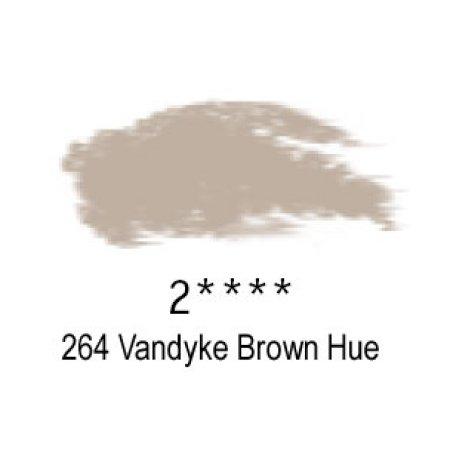Daler-Rowney Artists Soft Pastel, 264 Vandyke Brown Hue - 2