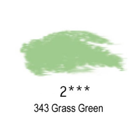 Daler-Rowney Artists Soft Pastel, 343 Grass Green - 2