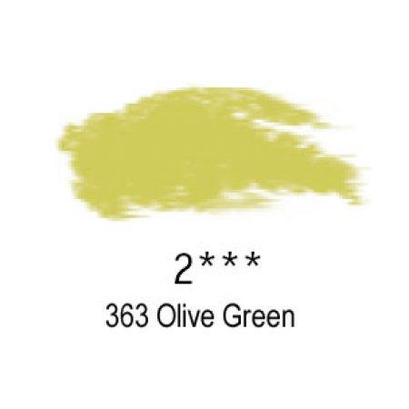 Daler-Rowney Artists Soft Pastel, 363 Olive Green - 2