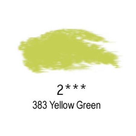 Daler-Rowney Artists Soft Pastel, 383 Yellow Green - 2