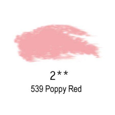 Daler-Rowney Artists Soft Pastel, 539 Poppy Red - 2