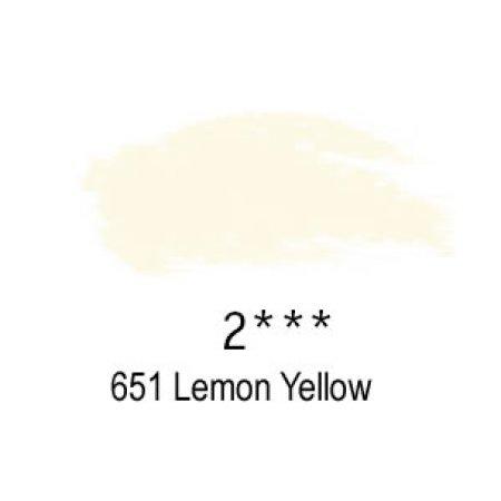Daler-Rowney Artists Soft Pastel, 651 Lemon Yellow - 2