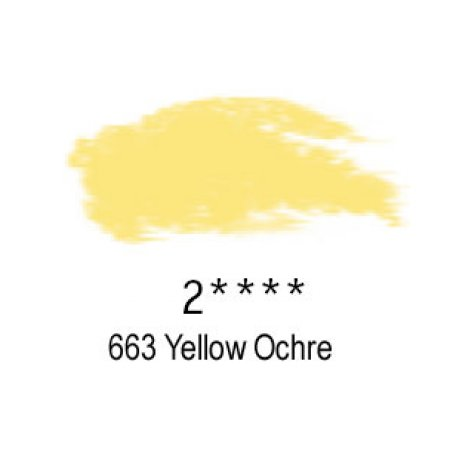 Daler-Rowney Artists Soft Pastel, 663 Yellow Ochre - 2