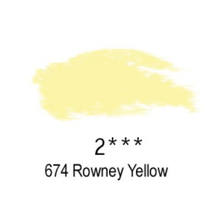 Daler-Rowney Artists Soft Pastel, 674 Rowney Yellow - 2
