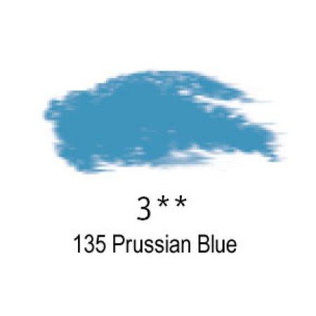 Daler-Rowney Artists Soft Pastel, 135 Prussian Blue - 3