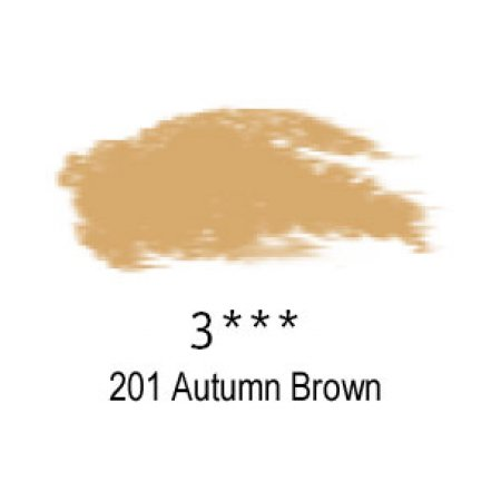 Daler-Rowney Artists Soft Pastel, 201 Autumn Brown - 3