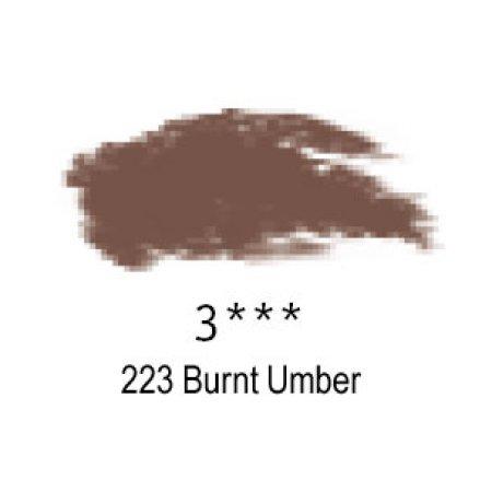 Daler-Rowney Artists Soft Pastel, 223 Burnt Umber - 3