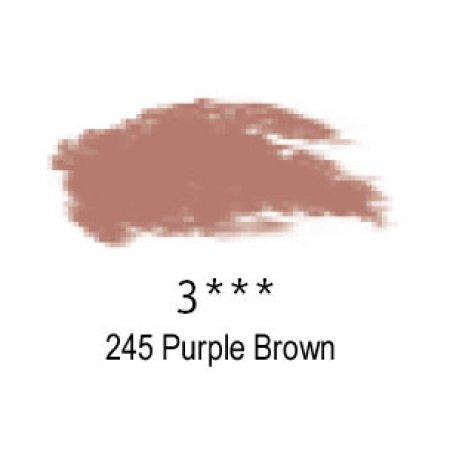 Daler-Rowney Artists Soft Pastel, 245 Purple Brown - 3