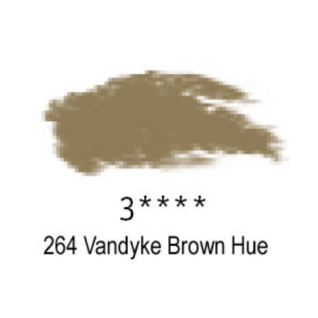 Daler-Rowney Artists Soft Pastel, 264 Vandyke Brown Hue - 3