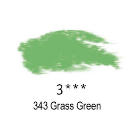 Daler-Rowney Artists Soft Pastel, 343 Grass Green - 3