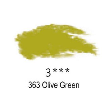 Daler-Rowney Artists Soft Pastel, 363 Olive Green - 3