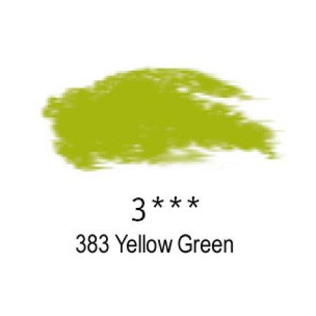 Daler-Rowney Artists Soft Pastel, 383 Yellow Green - 3