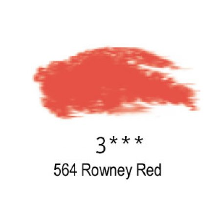 Daler-Rowney Artists Soft Pastel, 564 Rowney Red - 3