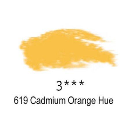 Daler-Rowney Artists Soft Pastel, 619 Cadmium Orange Hue - 3