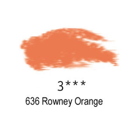Daler-Rowney Artists Soft Pastel, 636 Rowney Orange - 3