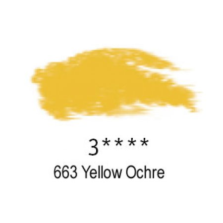 Daler-Rowney Artists Soft Pastel, 663 Yellow Ochre - 3