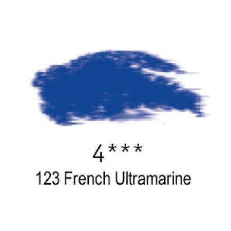 Daler-Rowney Artists Soft Pastel, 123 French Ultramarine - 4
