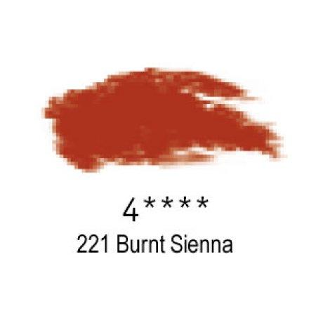 Daler-Rowney Artists Soft Pastel, 221 Burnt Sienna - 4