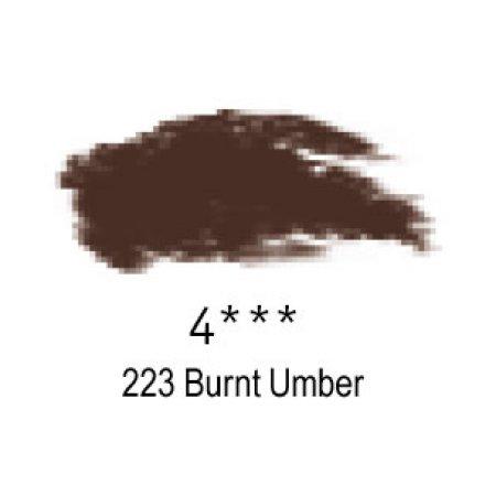 Daler-Rowney Artists Soft Pastel, 223 Burnt Umber - 4