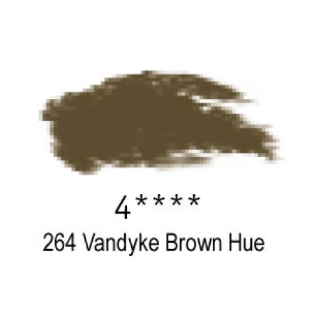 Daler-Rowney Artists Soft Pastel, 264 Vandyke Brown Hue - 4