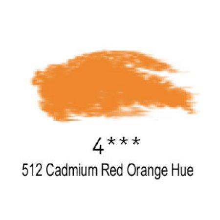 Daler-Rowney Artists Soft Pastel, 512 Cadmium Red Orange Hue - 4