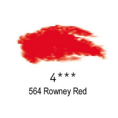 Daler-Rowney Artists Soft Pastel, 564 Rowney Red - 4