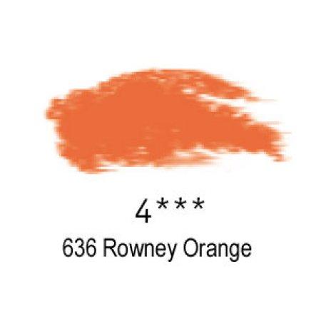 Daler-Rowney Artists Soft Pastel, 636 Rowney Orange - 4