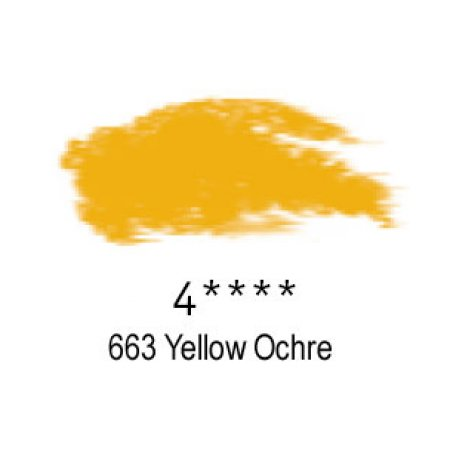 Daler-Rowney Artists Soft Pastel, 663 Yellow Ochre - 4