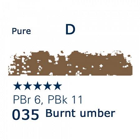 Schmincke Pastels, 035 burnt umber - D