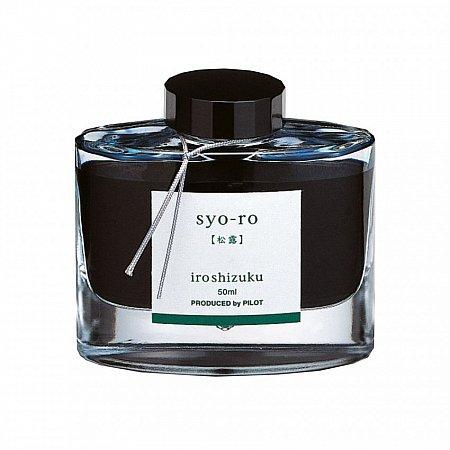 Pilot Ink Iroshizuku 50ml Green - Syo-Ro (Pine tree dew)