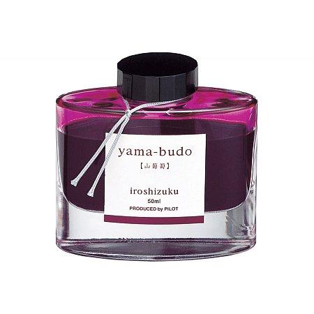 Pilot Ink Iroshizuku 50ml Red - Yama-Budo (Crimson glory vine)