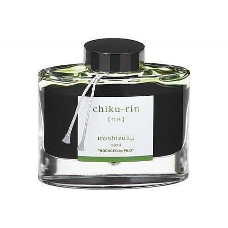 Pilot Ink Iroshizuku 50ml Green - Chiku-Rin (Bamboo Forest)