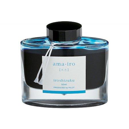 Pilot Ink Iroshizuku 50ml Blue - Ama-Iro (Sky blue)