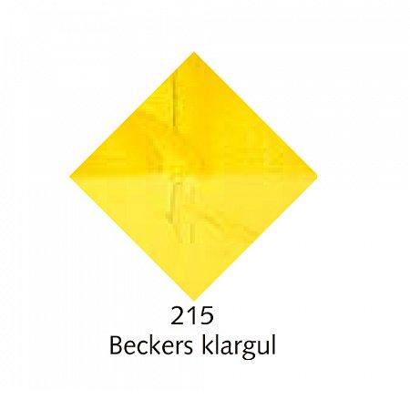 Beckers A oljefärg, 150ml - 215 Beckers klargul