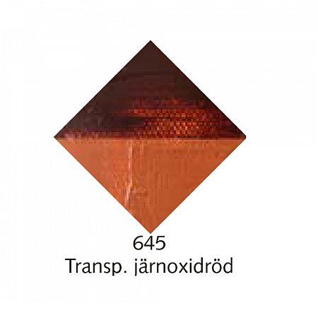 Beckers A oljefärg, 150ml - 645 Transp. järnoxidröd