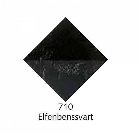 Beckers A oljefärg, 150ml - 710 Elfenbenssvart