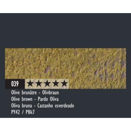 Caran dAche Pastel Pencils - 039 olive brown